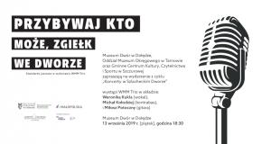 Koncert jazzowy w Dworze w Dołędze