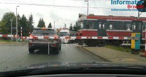 Sterkowiec - Kolejny uwięziony samochód na przejeździe kolejowym - 14 sierpnia 2019 r
