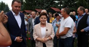 Beata Szydło z wizytą w Zakliczynie