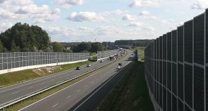 Wypadek na autostradzie A4 / Wokowice