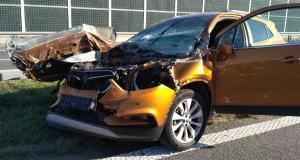 Niedzielny wypadek na A4.