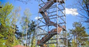 Wieża widokowa w Iwkowej